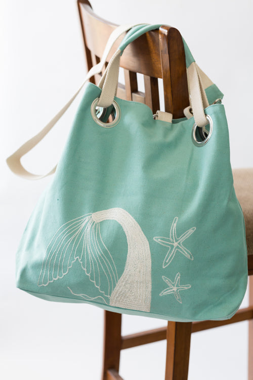 Mermaid Grommet Bag