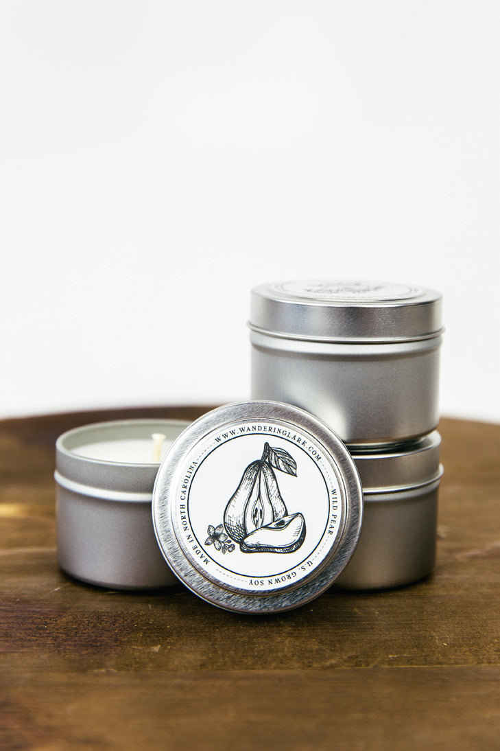Wild Pear Travel Tin