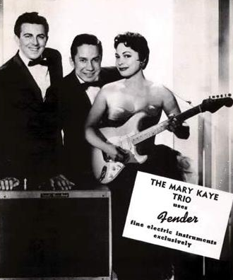 Mary Kaye Trio - First Lady of Rock - Mary Kaye Owned Fender Custom Shop Stratocaster