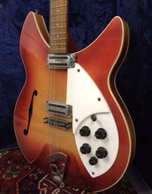 1964 Rickenbacker Fireglo owned by The Who John Entwistle + Pete Townshend + Johnny Marr
