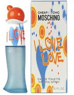 MOSCHINO I LOVE LOVE 3.4 OZ EDT SP