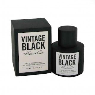 KENNETH COLE VINTAGE BLACK MEN 3.4 OZ EDT SP