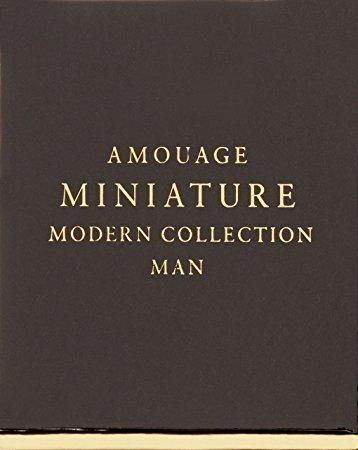 AMOUAGE MEN MODERN MINIATURES COLLECTION 6X1/4
