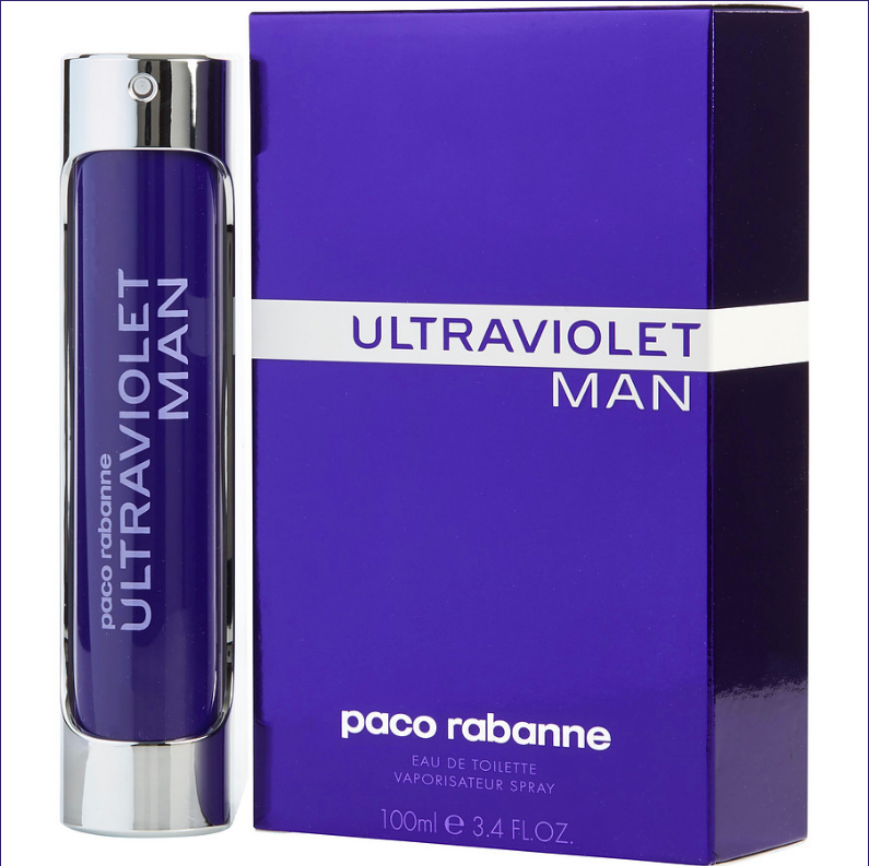 ULTRAVIOLET MEN 3.4 OZ EDT SP