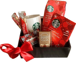 Starbucks Coffee & Cocoa - Christmas & Holiday Gift Baskets