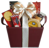 Holiday Leather Finish  Gifts - Brown & Burgundy - Personal & Corporate Gifts