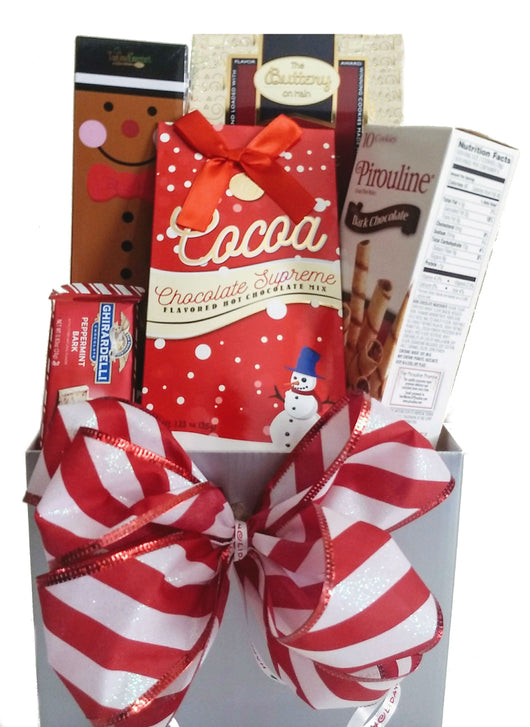 Christmas, Holiday Gift Baskets - Sweet  Holiday Wishes Gifts