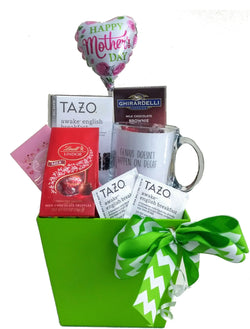 Mother's Day Gift Baskets - Gourmet Chocolates and Tea for Mom