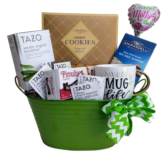 Mother's Day Gift Baskets - Tea & Cookies for Mom!