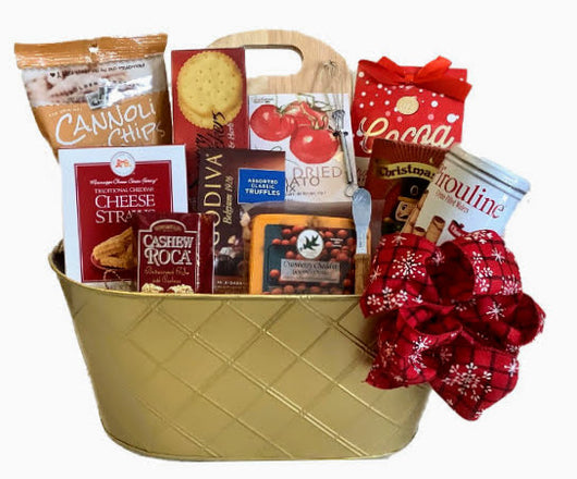 Holiday gift baskets - Sweet & Savory Gourmet basket - Christmas Gifts