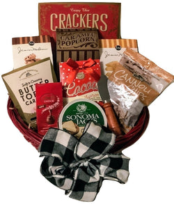 Christmas / Holiday Gift Baskets - Grand Celebrations Sweet & Savory Gourmet- Business & Personal Gifts