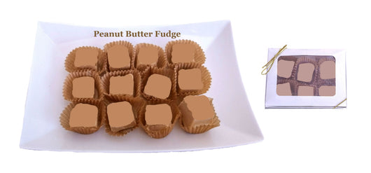 Fine Handcrafted Chocolates -  1/4 Lb Peanut Butter Fudge (Ohio only)
