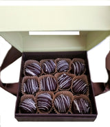 Fine Handcrafted Chocolates -  1/2 Lb Double Chocolate Cookie Truffles  (Ohio only)