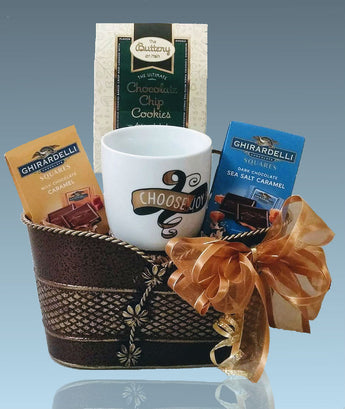 Holiday Gift Baskets - A little bit of Cheer Gourmet Snacks - All Occasion Gifts