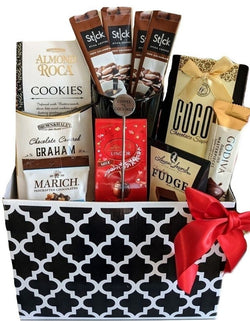 Thank You Gift Baskets - Coffee Cookies & Chocolate - Business & All Occasion  Gifts