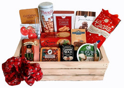 Holiday Gift Baskets - Gourmet Wooden Crate Gifts - Business & Teams