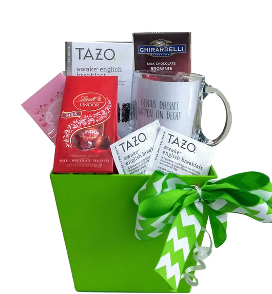 Corporate Gifts - Energizing Thank You Gift with Tazo Tea and Genius Mug