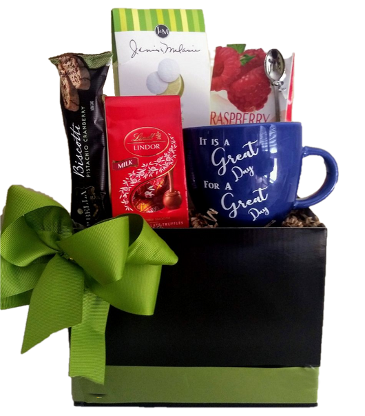 Tea & Cookies & Inspirations Gift Box - All Occasion Gifts