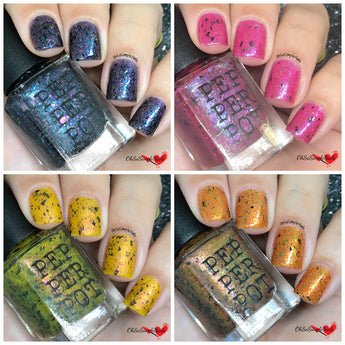 Final Girls Of Horror collection indie nail polish 5 free nail polish pepper pot polish