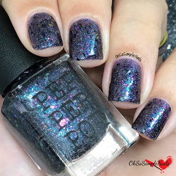 Sudden Sequel Death Syndrome Navy Violet 5 Free Nail Polish Pepper Pot Polish Handmade Nail Polish