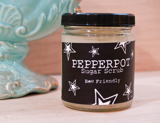 Bee Friendly Sugar Scrub