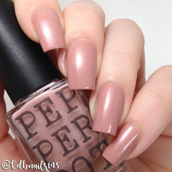 Showing Some Leg Nail Polish - Pepper Pot Polish