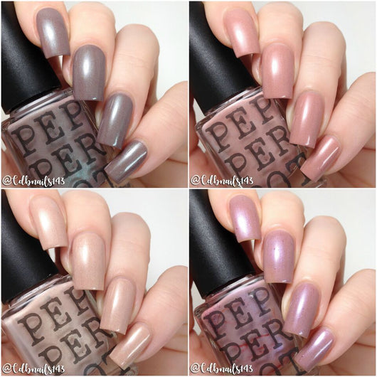 Barely There Neutral Nail Polish Collection - Pepper Pot Polish