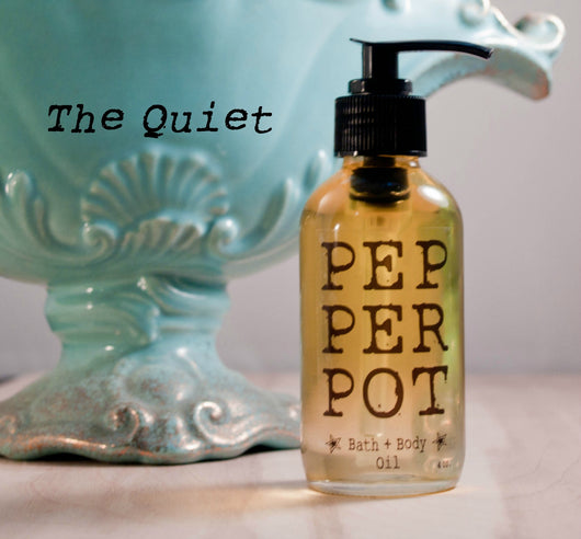 The Quiet Bath Body Oil