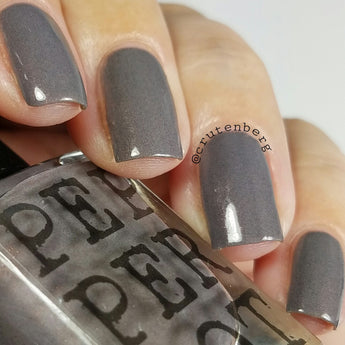 Granite Waves grey nail polish
