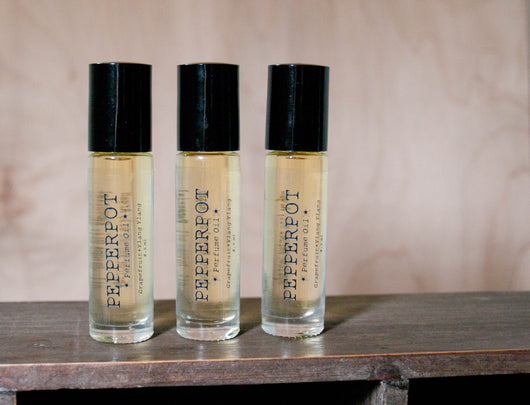Lemongrass Eucalyptus Rosemary Perfume Oil - Pepper Pot Polish