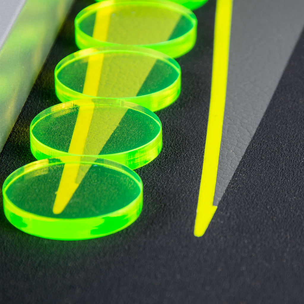 Fluo Yellow UV Backgammon