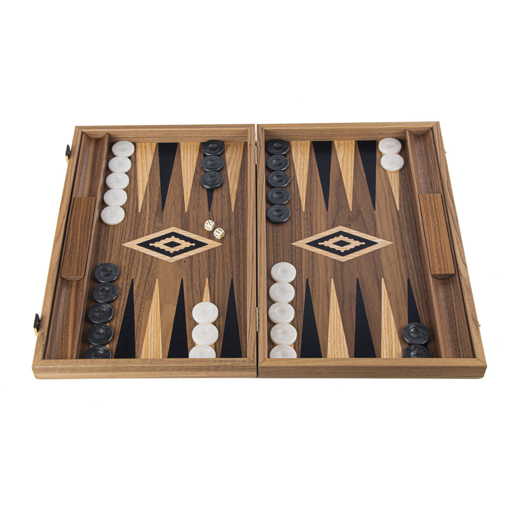 AMERICAN WALNUT Backgammon