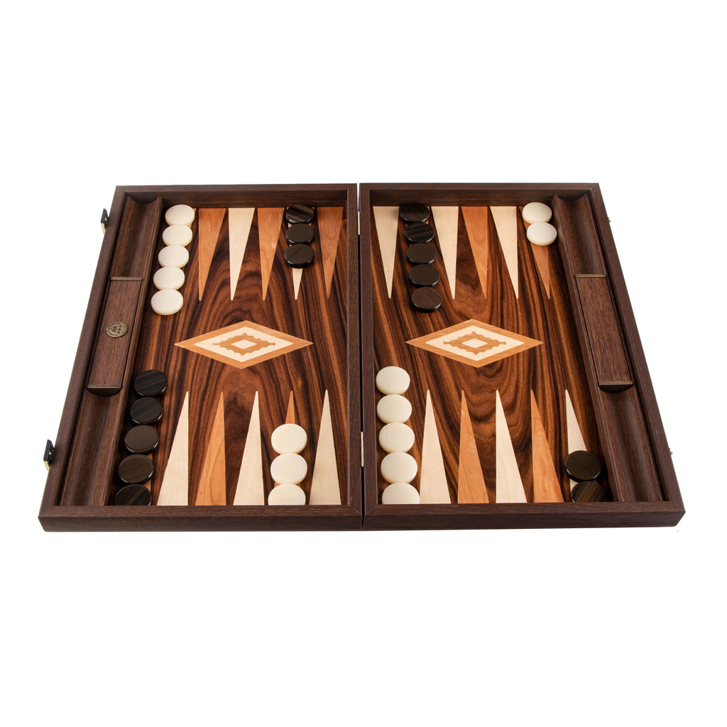 BURL PATCHWORK Backgammon