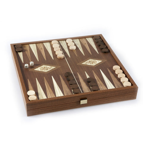CLASSIC STYLE - 2 in 1 Combo Game - Chess/Backgammon (Large)