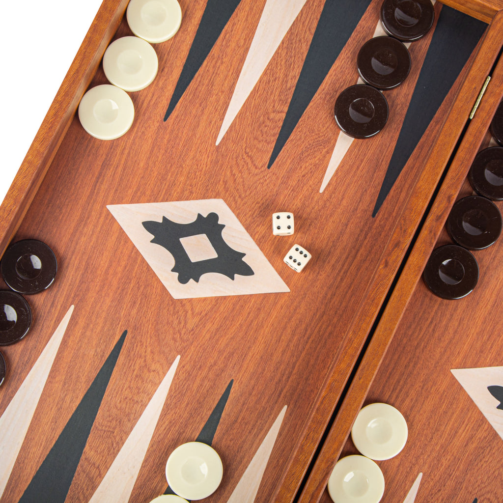 MAHOGANY REPLICA Backgammon