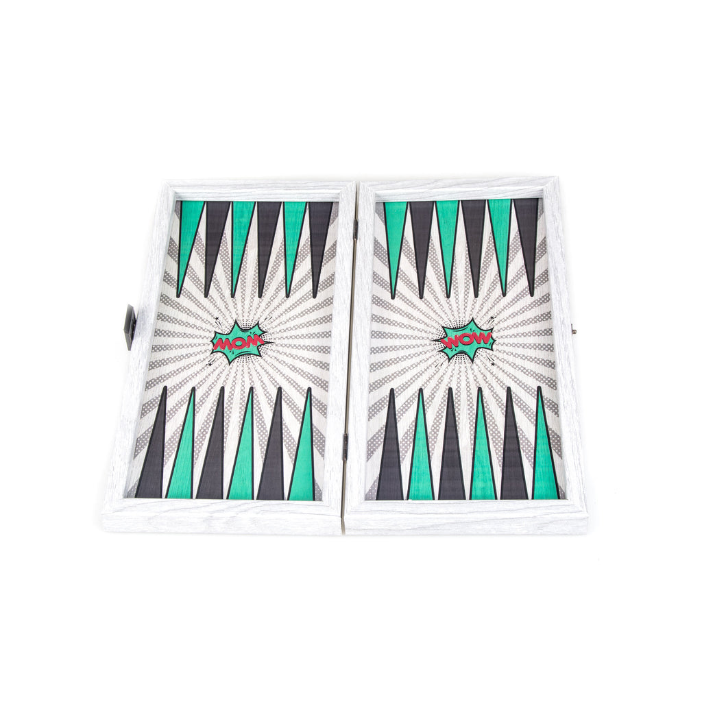 POP ART - Travel Size Backgammon