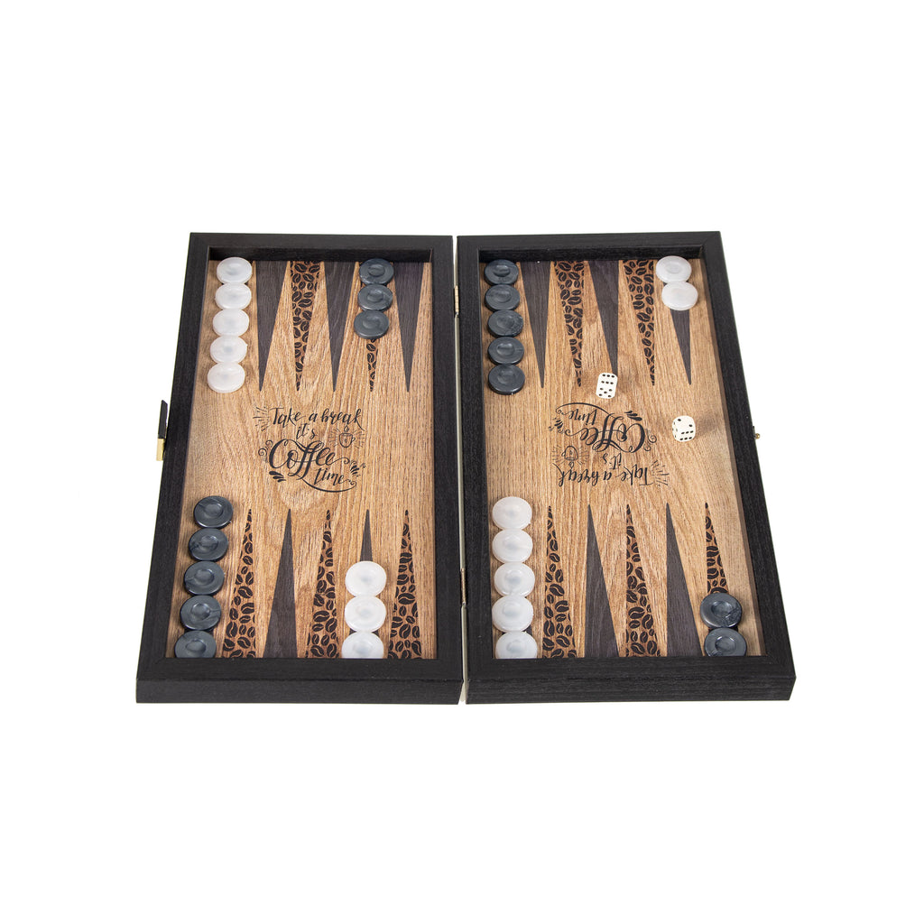 COFFEE - Travel Size Backgammon