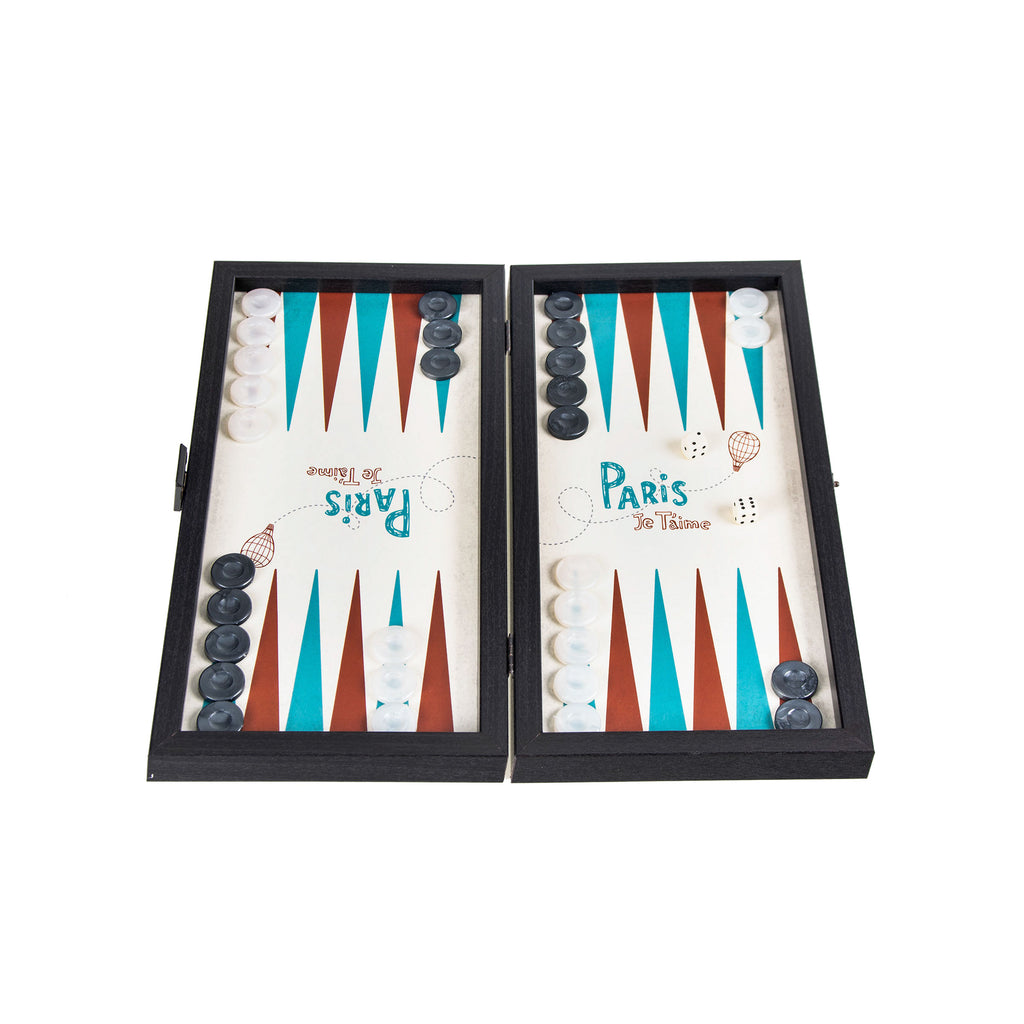PARIS - Travel Size Backgammon