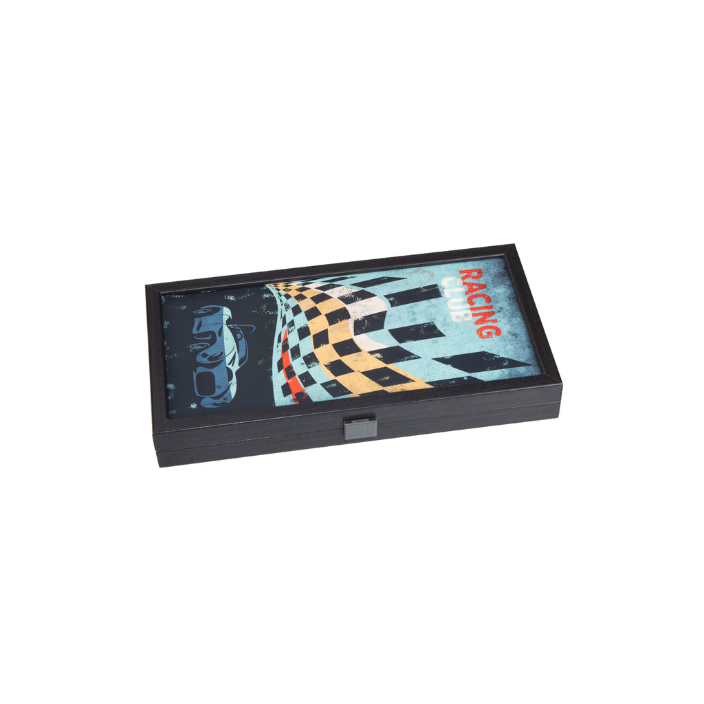 RACING CAR - Travel Size Backgammon