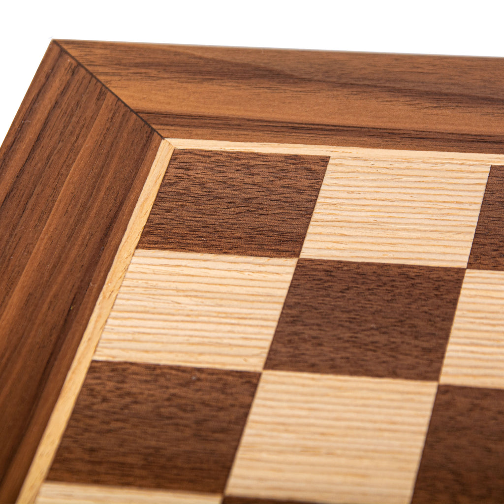 WANLUT WOOD & OAK INLAID handcrafted chessboard 50x50cm (Large)
