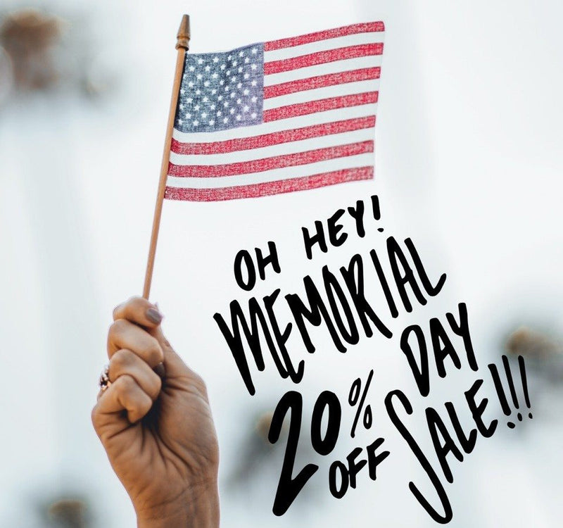 Memorial Day Weekend Sale! 🇺🇸