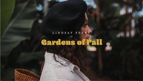 Stitch and Feather's Gardens of Fall with Lindsay Perry