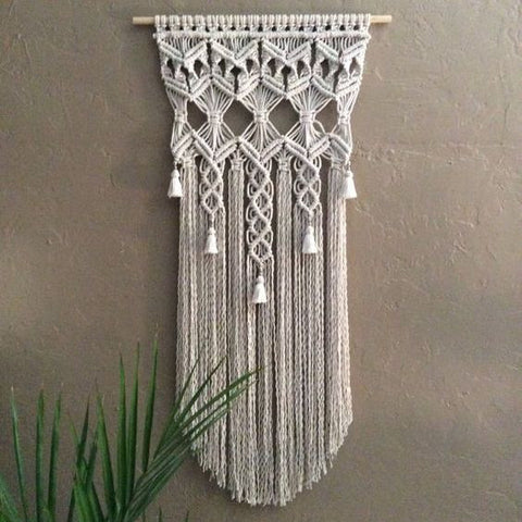 Wall Art Macramé Workshop May 25th 2017