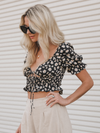Bask In The Sun Crop Top - Stitch And Feather