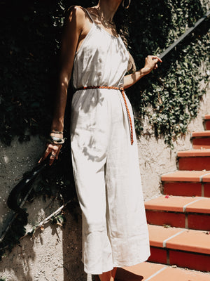Lounge With Me Jumpsuit - Stitch And Feather