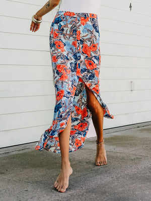 Hothouse Maxi Skirt - Stitch And Feather