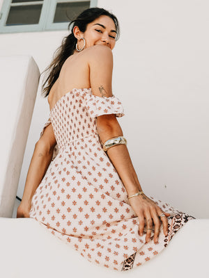 Blush Blossom Maxi - Stitch And Feather