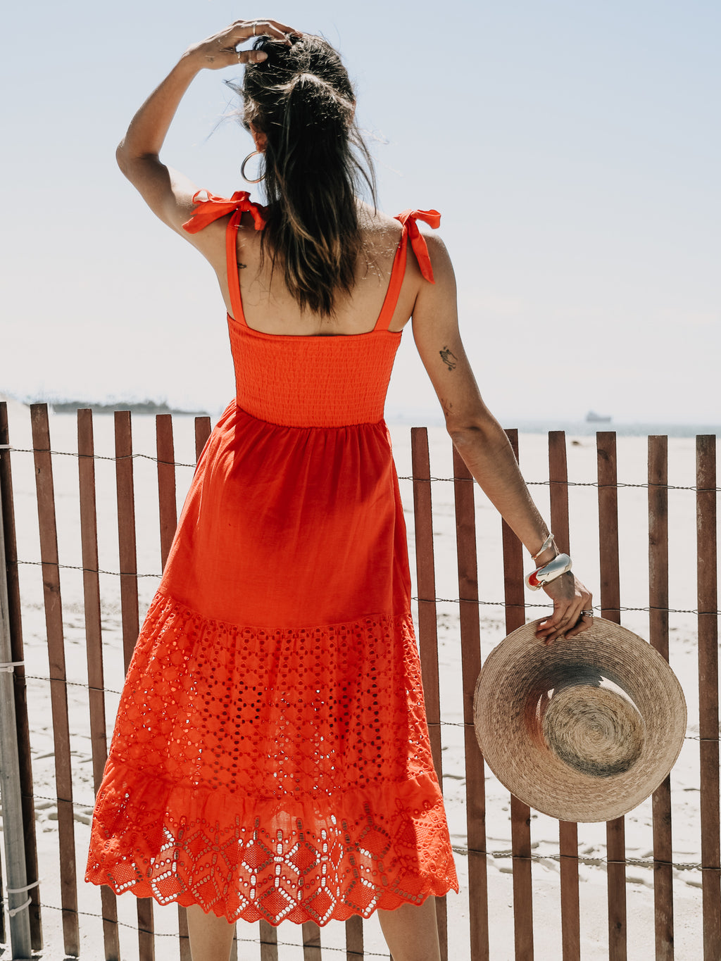 Ciao Bella Eyelet Maxi - Stitch And Feather
