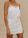 Snake Skin Mini Skirt - Stitch And Feather