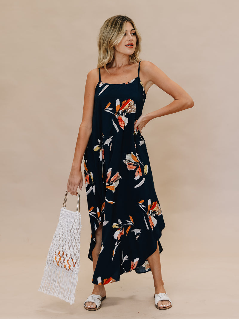 Make A Splash Maxi Dress - Stitch And Feather